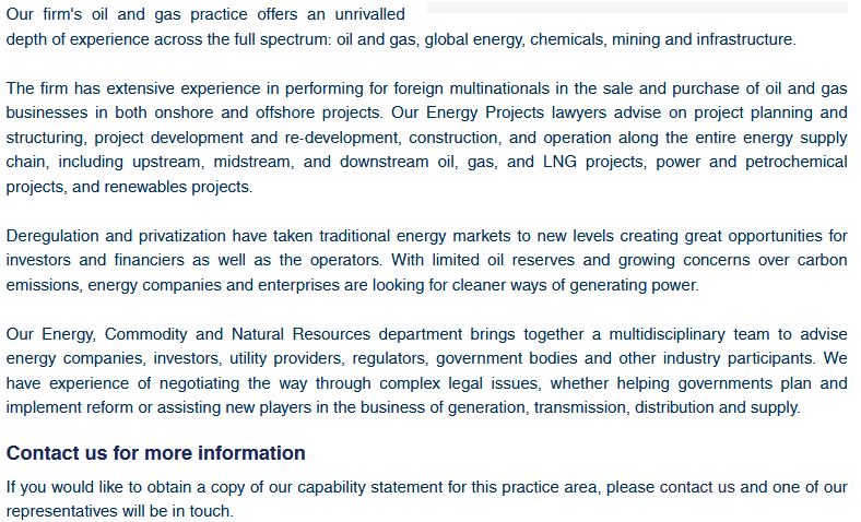 Energy and Natural Resources - Lawyers in Dubai, Lawyers in UAE